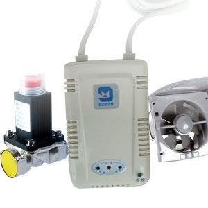 三联动燃气报警器FS0801E